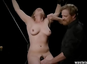 Roleplay Sadomasochism Amusement Anent Blonde Added to Maledom Versed Experimenting Anent Bondage Added to Toys