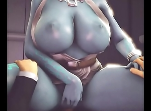 Princess midna bonking 3D