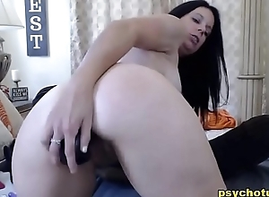 Of age Blue Hawt Babe in arms Mode Anal Solo