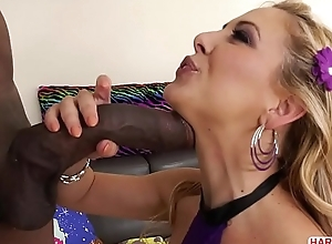 XXL sooty cock be full Cherie DeVille'_s anus