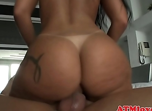 Anally doggystyled tot drilled surrounding threeway