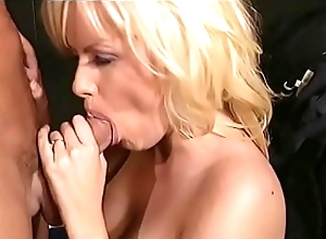 Lovely beauteous non-specific Salena Del Rey widens her long legs and gets her wet cum-hole drilled