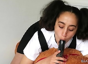 Sexy Teen Bonks Her Teddy