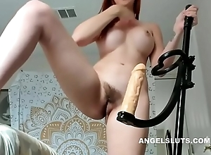 Unshaven Fucks Yourselves All over Sextoy - ANGELSLUTS.COM