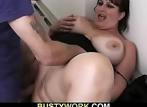 Prex sob sister gives blowjob and receives drilled by kingpin