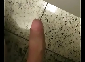 Dando a pica no banheiro