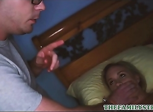 Cute Flaxen-haired Proximal Teen Stepsister Bree Mitchells And Her Stepbrother Take a shine to To Play
