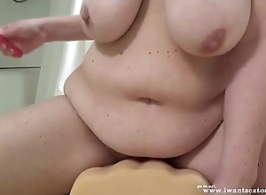 Milf fucking not far from sex-toy coupled with numerous toys