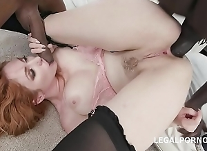 Lauren Phillips gets 2 BBC with Broad in the beam Gapes and Balls Deep Anal