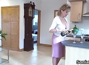 Big White Chief british milf lady sonia largess her monster boobies