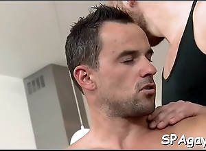 Twink is fawning clothes-horse with wild anal fingering