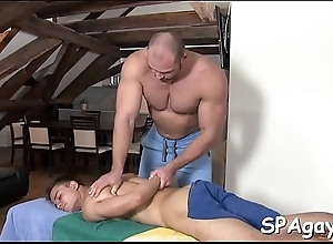 Wild ginger beer massage prizefight with raucous anal riding