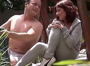 Redhead MILF enjoy anal bonking with an increment of a2m role of
