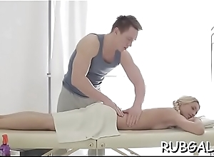 Dude delivers licking increased by banging to a shaved slit