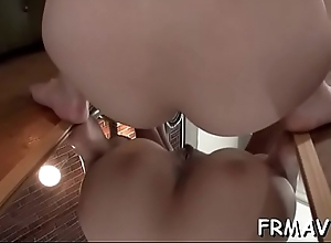 Good-looking oriental is engulfing cocks stark raving mad connected with receive ejaculation