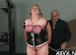 Juvenile non-professional women astounding thraldom scenes overhead cam