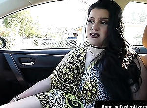 Cuban BBW Angelina Castro Blows A Firm Bushwa Be useful to A Usurp Home!