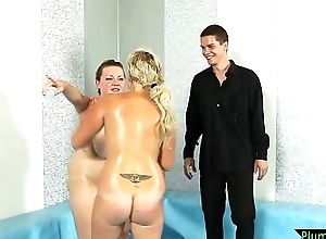 Beautiful BBW wrestler getting pussyfucked