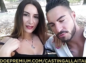 Evict ALLA ITALIANA - Hot anal audition with Italian first-timer Debby Love