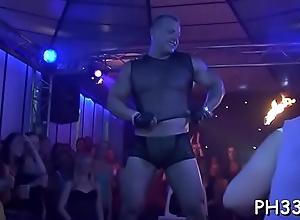 Massive orgy porn