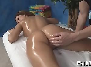 Wacko tart takes horseshit from her massagist