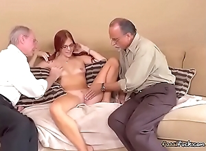 Teen Zara Ryan Gets Pleasured At the end of one's tether Old Men