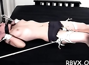 Irresistable breasty neonate acquires ruffled unconnected with being restrained
