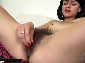 Andy Satellite plays almost her soft love tunnel in catsuit