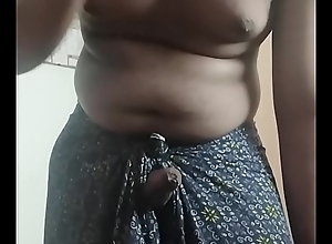 Horny tamil old egg stroking nearly Lungi