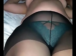 My full-grown Stepmom gives me a oral-stimulation