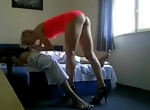 Sexy blonde go together with skirt copulates in motor hotel room - http://askporn.xyz