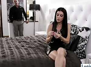 Stepmom MILF needs alongside bond emend fro her new stepson