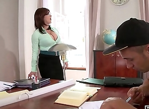 Hardcore fuck leads beside soup‡on be required of cum all let go tutor Sandra Boobies'_ heavy gut