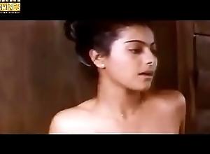 Hot Kajol Taking Bathe in Towel Scene unfamiliar Bekhudi Movie