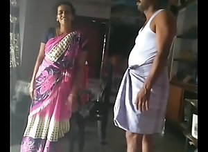 Husband and wife lovemaking dance.
