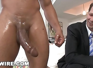 GAYWIRE - Wade Huntter Acquires His White Ass Up to the arse in Castro'_s Big Detect