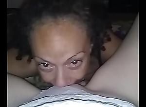 Rubbing away Cum-hole