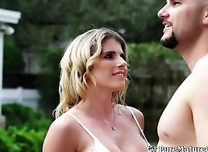 Busty Cougar Milf Cory Chase Takes J-Mac'_s Fat Blarney More Will not hear of Pussy &amp_ Ass