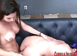 Hot shemale gets fucked