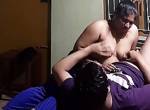 Indian Homemade Titjob - Cock Rub on Nipples plus Bowels