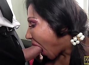 PASCALSSUBSLUTS - Nasty British MILF gets her holes slammed