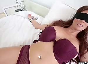 Stepmom blindfolded while sucking unearth
