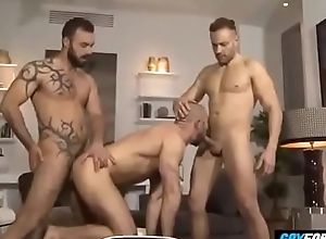 Muscle Studs Anal Gender Threesome