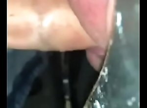 Wadding a guys indiscretion anent cum within reach a gloryhole
