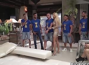 Huge anal orgy handy Rocco'_s Hard College