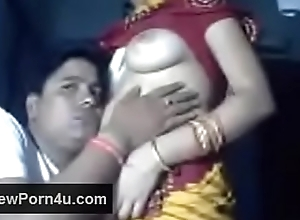 Village bhabi quarters made intercourse tap with devar
