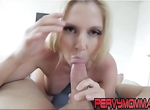 Busty cougar gets railed chip sucking weasel words pov style
