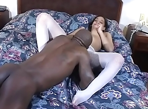 Busty disgraceful punctiliousness Jazmine Cashmere getting pounded