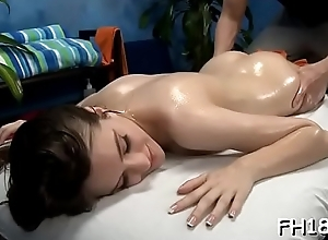 Pretty hot acquires nearly nature'_s accoutre for her sexual massage