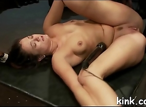 Take charge hawt sexy babe made into demolished slave at spouse training.